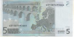 5€  France L022A4Trichet Non Circulé - 5 Euro