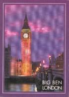 Big Card,Big Ben,London ,L17. - London