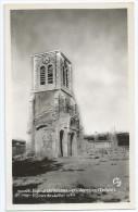Cpa Bon Etat ,   1)église De Vassieux-en-vercors , Ruines De Juillet 1944  2)  L'église - Autres Communes