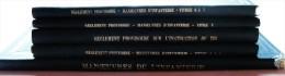 LOT 5 MANUELS INSTRUCTIONS MILITAIRES MANOEUVRES DE L'INFANTERIE-1902-1903-1904 - War 1939-45