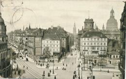 ALLEMAGNE - DRESDEN - Pirnaischer Platz Mit König Johann Strasse - Dresden