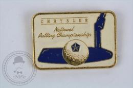 Chrysler 1988 National  Putting Championship - Golf Pin Badge #PLS - Golf