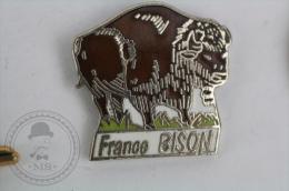 France Bison - Pin Badge #PLS - Animales