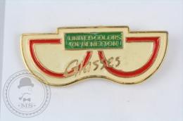 United Colors Of Benetton Glasses - Pin Badge #PLS - Marcas Registradas