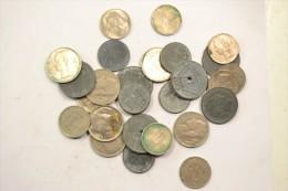 Lot De Monnaies Belge à Trier, Belgique - Collections