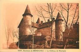 Depts Divers - Gard  - Ref T544 - Environs De  Genolhac - Le Chateau De Montjoie - Chateaux - Carte Bon Etat - - Sonstige Gemeinden
