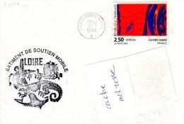 BSL / BSM LOIRE Obl. Paris Naval 05/07/93 - Storia Postale