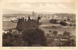 Depts Divers - Gard  - Ref T534 - Rochefort Du Gard - Vue Generale Et La Plaine - Carte Bon Etat - - Rochefort-du-Gard