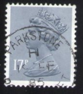Royaume Uni 1983 Oblitéré Rond Used Stamp Queen Reine Elizabeth II 17 Penny - 1952-.... (Elisabeth II.)