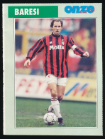 Sport, Football (1997) : FRANCO BARESI (Italie), Milan AC (recto-verso) - Calcio