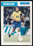 Sport, Football (1997) : DENILSON (Brésil), Sao Paulo FC (recto-verso) - Calcio