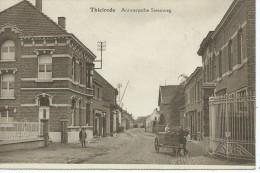 (F253) Tielrode. Antwerpsche Steenweg. RARE !! - Temse