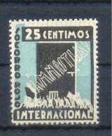 VIÑETA POLÍTICA REPUBLICANA.  GOMEZ GUILLAMÓN 1521 * - Spanish Civil War Labels