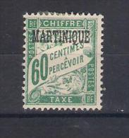 Martinique Y/T    Nr T8* (a7p6) - Martinique (1886-1947)