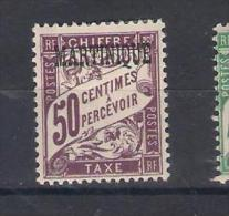 Martinique Y/T   Nr T7* (a7p6) - Martinique (1886-1947)