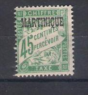 Martinique Y/T   Nr T6* (a7p6) - Martinique (1886-1947)