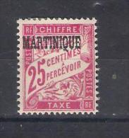 Martinique Y/T   Nr T4* (a7p6) - Martinique (1886-1947)