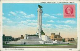 "CUBA HABANA / Monumento A La Voladura Del ""Maine"" / CARTE COULEUR - Cuba"