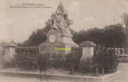 CPA  MOERBEKE WAAS  STANDBEELD MADAME DE KERKHOVE LIPPENS - Moerbeke-Waas