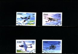 IRELAND/EIRE - 2000  MILITARY AVIATION  SELF  ADHESIVE  SET  FINE USED - Usati