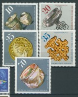 BL3-381 DDR, EAST GERMANY 1976 MI 2182-2186 ARCHEOLOGICAL FINDS IN THE DDR. MNH, POSTFRIS, NEUF**. - Archeologie
