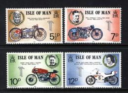 GB ISLE OF MAN IOM - 1975 TT RACES SET (4V) FINE MNH ** SG 63-66 - Isle Of Man