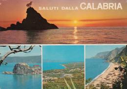 1977 SALUTI DALLA CALABRIA - Italia