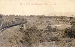 C F C N  Guinée Française - Train Au Km 108 - Frans Guinee