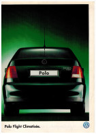 VW POLO FLIGHT CLIMATISEE DEPLIANT 2 VOLETS 1997  Format A4 FRANCE - Advertising