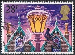 GB SG1234 1983 Christmas 28p Good/fine Used [11/11422/25D] - 1952-.... (Elizabeth II)