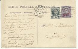 1923  Pakketbootkaart (Paquebot) Van Gent Naar Zele - Tarjetas Transatlánticos