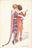 Illustrateur XAVIER SAGER -  A L´Américaine - Dansing Girls - Sager, Xavier