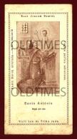 PORTUGAL - PATENTE DE ADMISSAO À PIA UNIAO DE SANTO ANTONIO - 1935 OLD RELIGIOUS PRINT - Religione & Esoterismo
