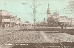 AUSTRALIE - HANNAN ST KALGOORLIE - CPA - Published By Bon Marché - Circulée 1907 - Australia