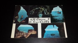C-15861 CARTOLINA SAN FELICE CIRCEO - IL CIRCEO E LE SUE GROTTE - VARIE VEDUTE - Latina
