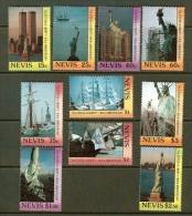 NEVIS, 1986, Mint Never Hinged Stamp(s), MI Nr, 430-439, #6550 - St.Kitts En Nevis ( 1983-...)