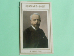 CHROMO, IMAGE, CHOCOLAT LOUIT - Mr BARILLOT, Peintre - Louit