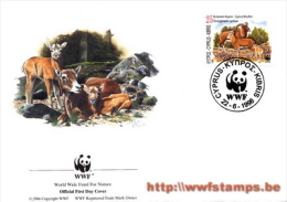 50% DISCOUNT WWF - CYPRUS - 1998 - FDC By WWF - FDC Issued By Groth In Switserland - Ohne Zuordnung