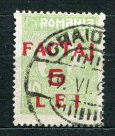 Romania Paket Nr.5        O  Used       (257) - Pacchi Postali