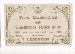 6803 LEDEGHEM Carton De Voeux - Ledegem