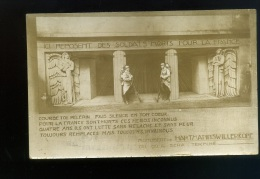 Carte Photo  Monument De HARTMANNSWILLERKOPF  Voyagée 1928 - Monumenti Ai Caduti
