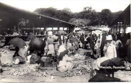 ASUNCION Ca 1920. Postal Card. Mercado. Tarjeta # 22957