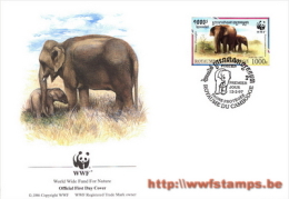 50% DISCOUNT WWF - CAMBODIA - 1997 - FDC By WWF - FDC Issued By Groth In Switserland - Ohne Zuordnung