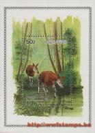 50% DISCOUNT WWF - ZAIRE - 1984 - Miniature Sheet - Miniature Sheet : 1 50% DISCOUNT WWF Follower Stamp On Bloc - Ohne Zuordnung