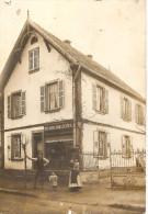 Carte Photo Années 1915-1920 Boulangerie Charles FELS Lieu à Identifier - Schiltigheim
