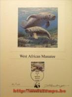 """50% DISCOUNT WWF - TOGO - 1984 - Art Sheet - Art Sheet Signed By Artist"" - W.W.F."
