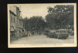 LE CANNET-ROCHEVILLE- LE TERMINUS DES AUTOCARS ET LA PLACE- Edit Jeannette- - Le Cannet