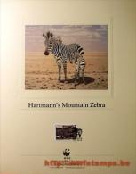 """50% DISCOUNT WWF - NAMIBIA - 1991 - Art Sheet - Art Sheet - Animal Name Mentioned"" - W.W.F."