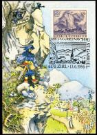 ÖSTERREICH 1986 - Naturschönheiten / Martinswand - Zirl In Tirol - Maxikarte, MC - Sonstige
