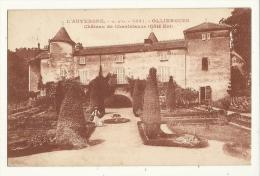 Cp, 63, Olliergues, Château De Chantelauze, Côté Est - Olliergues